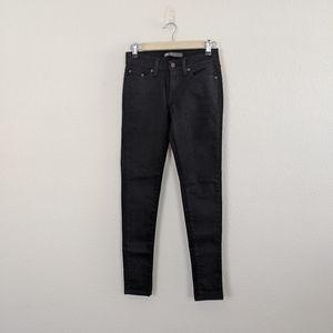 Levi's Juniors Black 535 Legging Jeans
